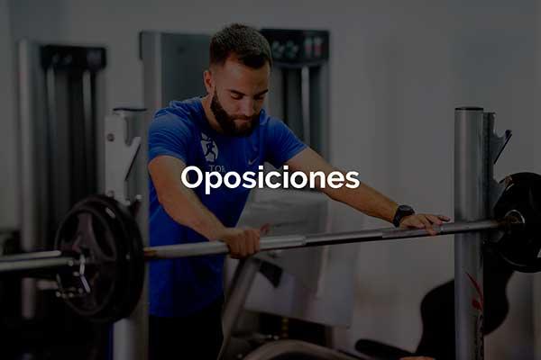 Trainers Marcos Actividad Oposiciones