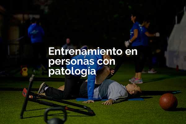 Trainers Marcos Actividad Entrenamiento en personas con patología