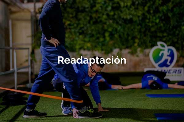 Trainers Marcos Actividad Readaptación