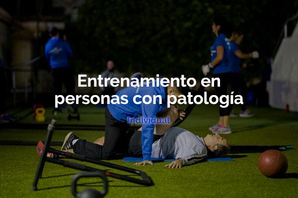 entrenamiento en personas con patología en cartagena