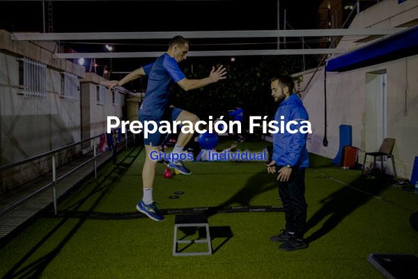 preparacion física entrenador personal cartagena